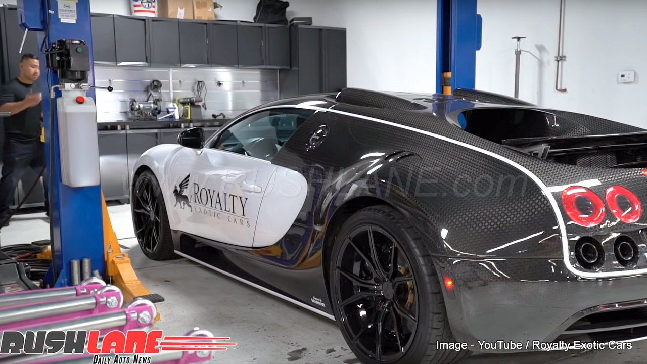 Bugatti Veyron oil change costs Rs 14 lakhs - Costlier ...