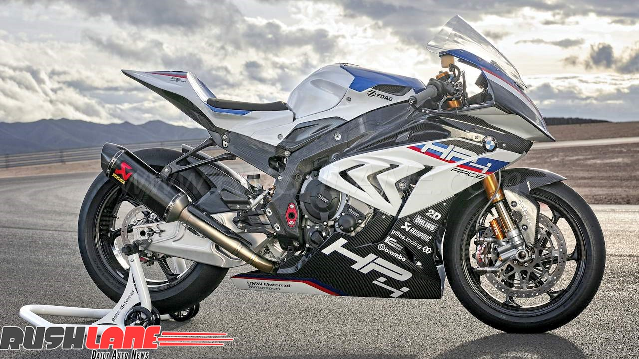 Bmw Hp4 Race Superbike Launched In India At Rs 85 Lakhs