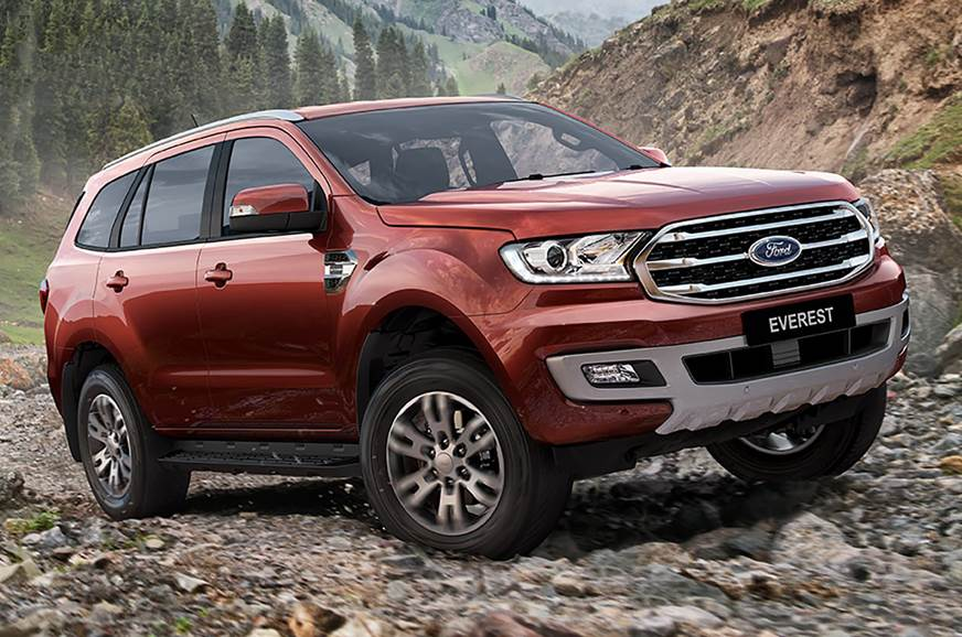 New Ford Endeavour Facelift Makes Global Debut