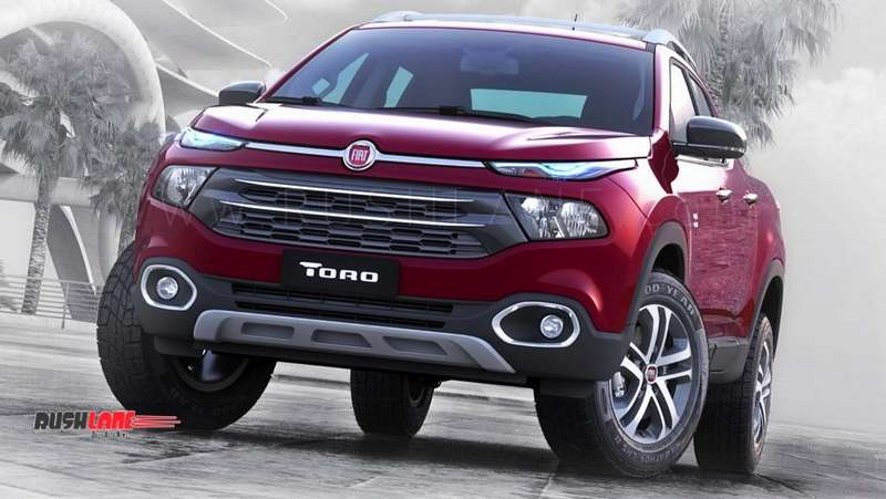 Fiat Toro Suv Teased Ahead Of Global Debut Based On Jeep Compass