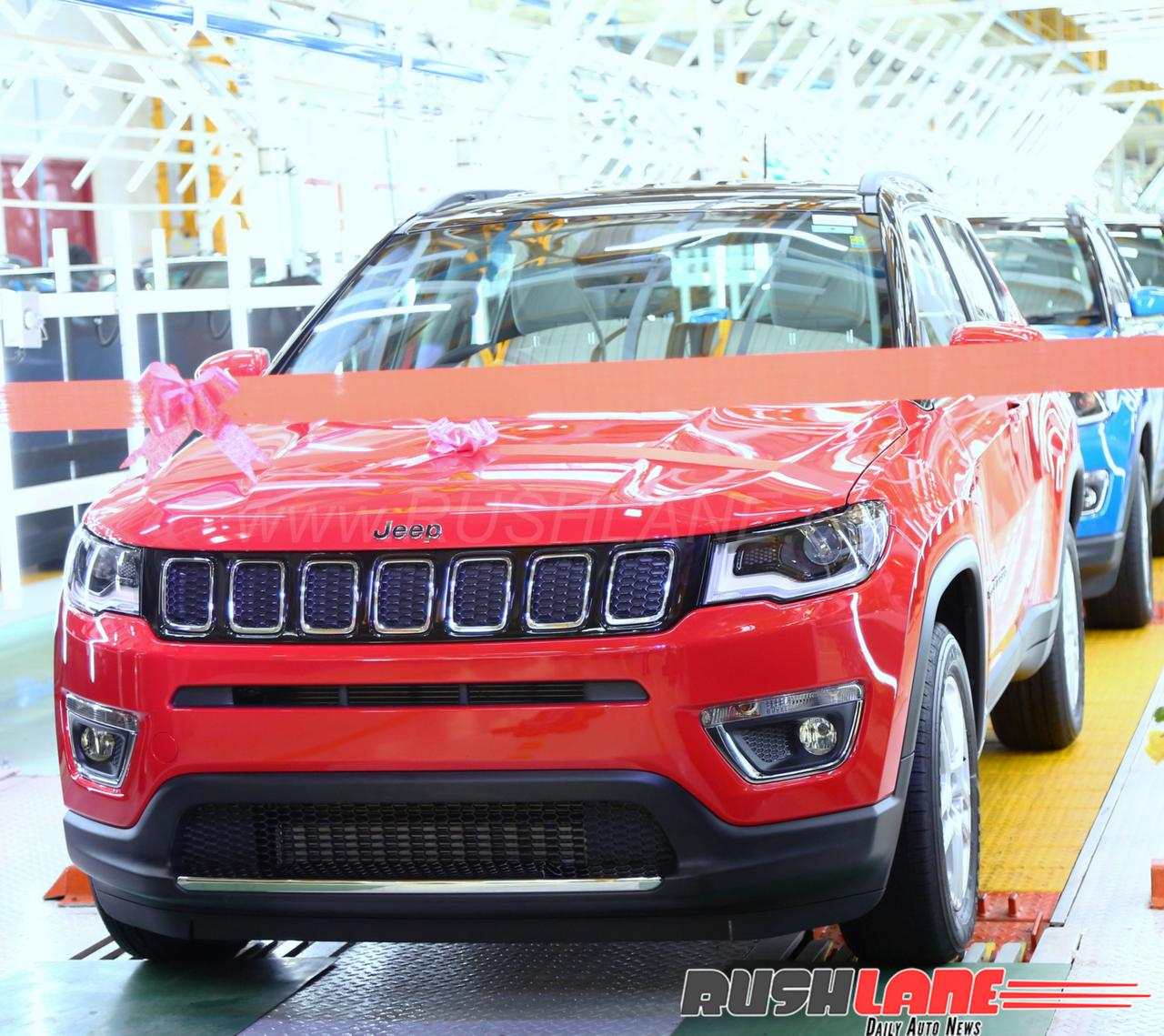 Jeep Compass Used Car: 6k Units In Q1 2018; Nearing 20k In India