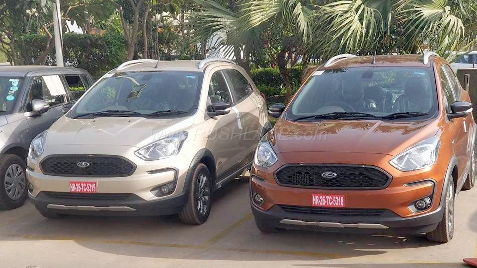 2018 Ford Figo Based Freestyle Small Car Spied Ahead Of Launch