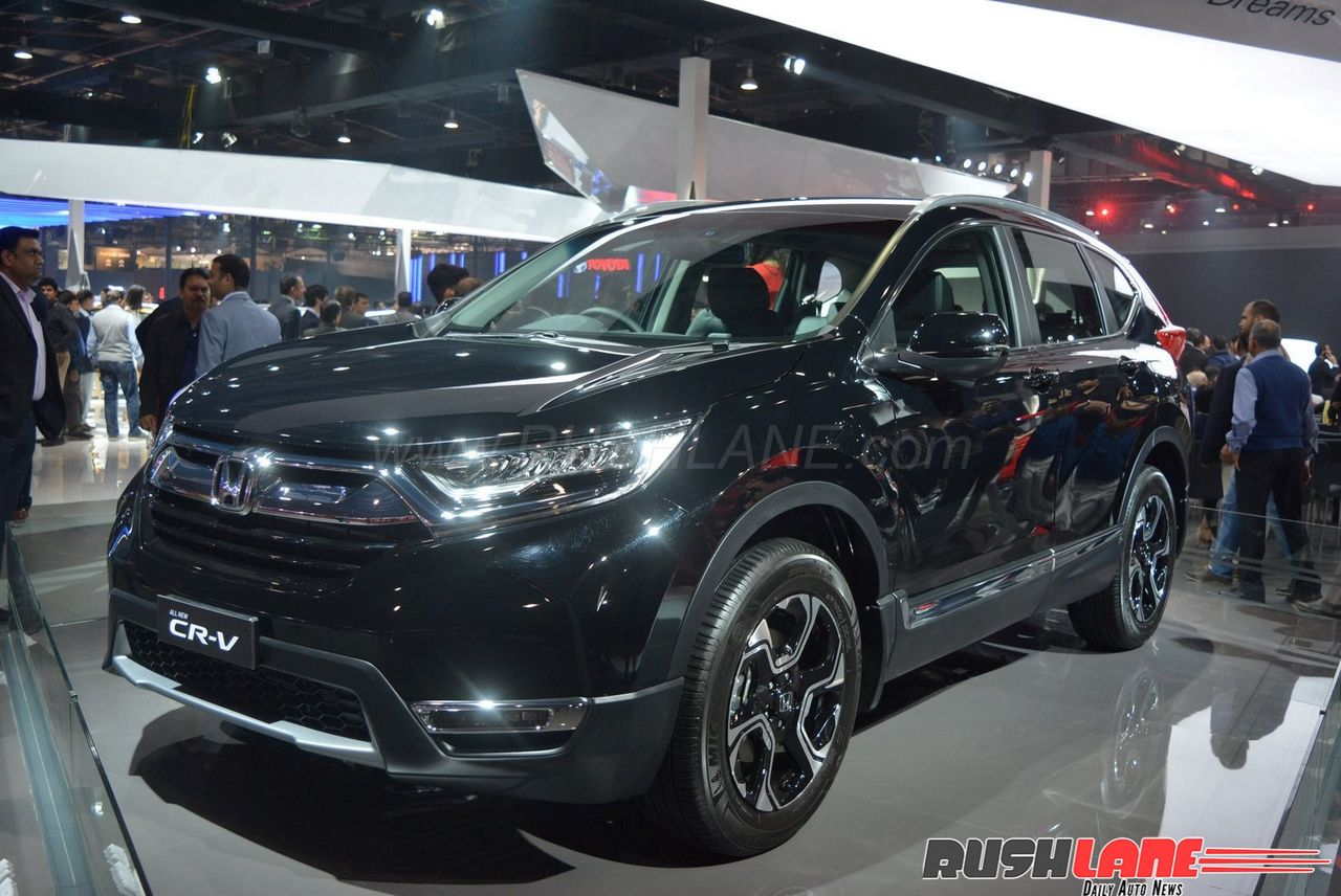 Honda cr v diesel with 3 row seating india launch this for Honda crv usa