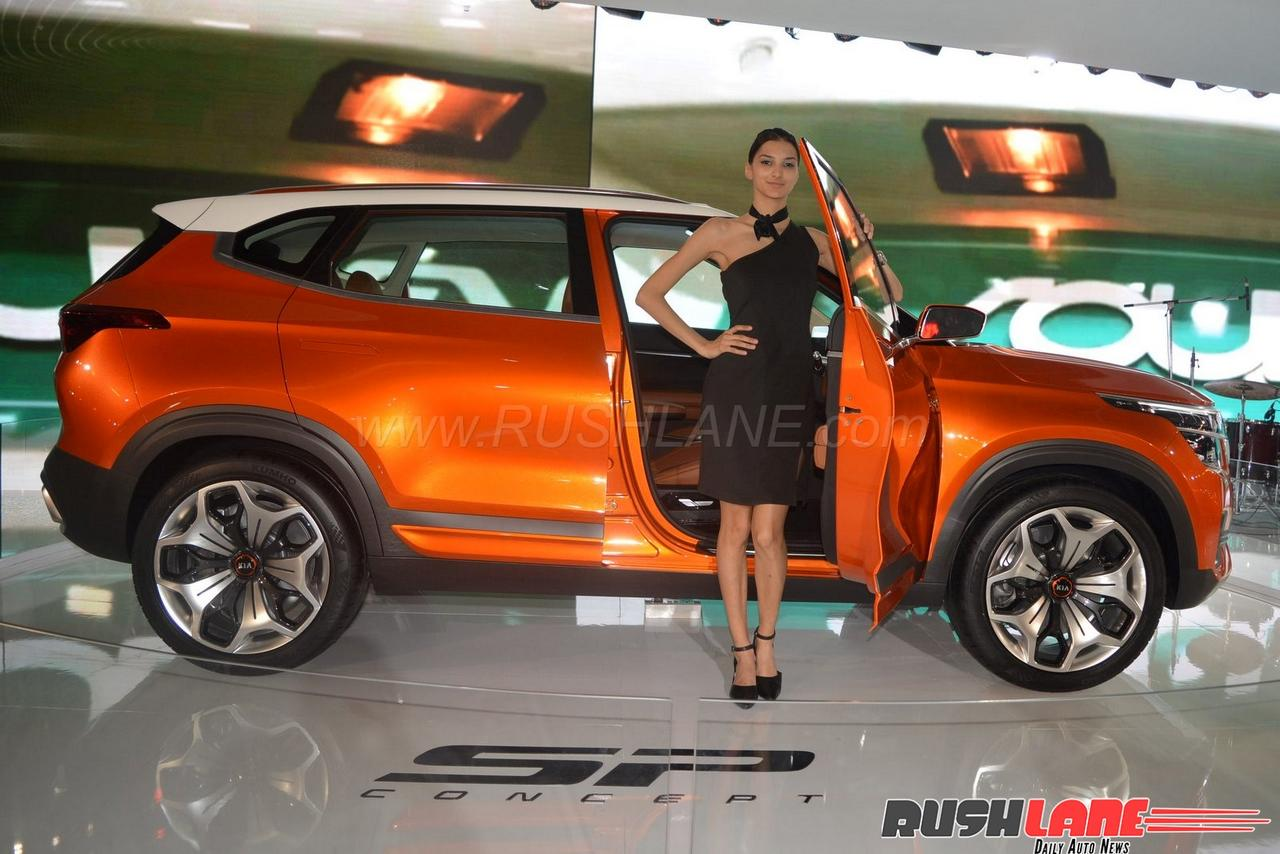 Kia India Plans To Launch 5 Cars By 2021 First Is Sp Suv By Mid 2019
