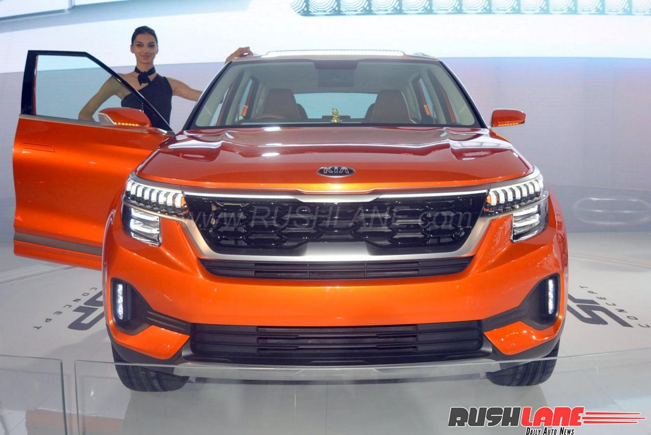 Kia India plans to launch 5 cars by 2021 - First is SP SUV ...