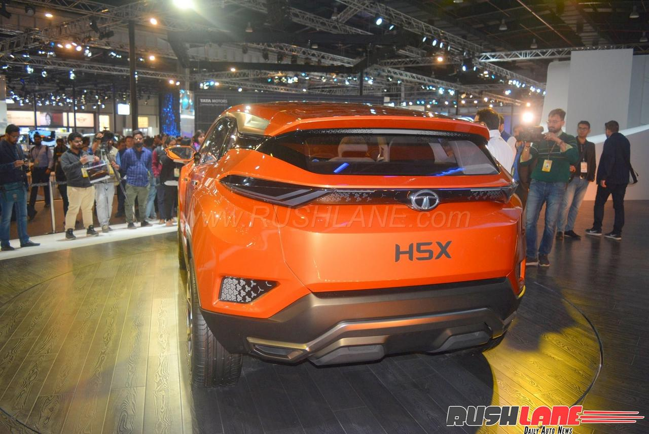 2018 Tata Harrier H5x Based On Range Rover Evoque Suv