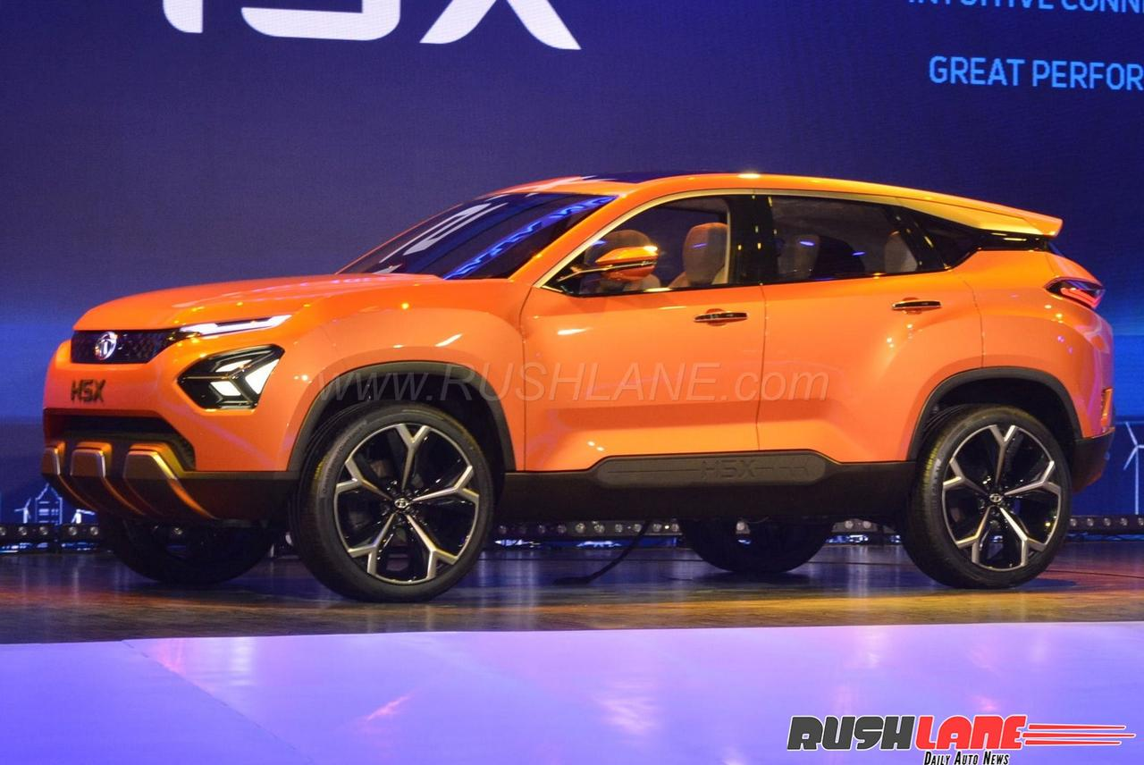 Tata Harrier at Auto Expo