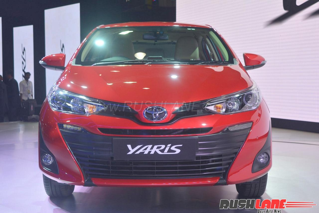 toyota yaris spied ahead of launch rivals maruti ciaz