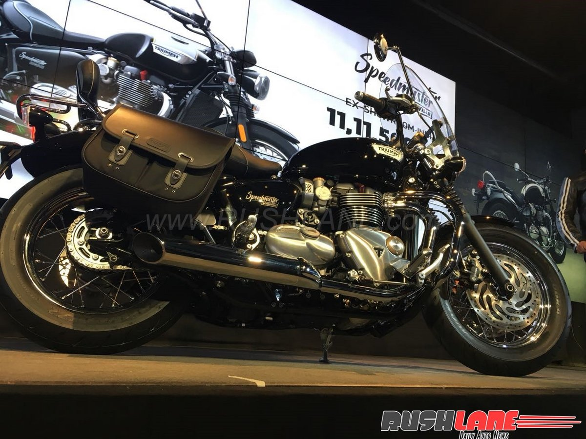 Triumph Speedmaster Launched In India Price Rs 1111 Lakh