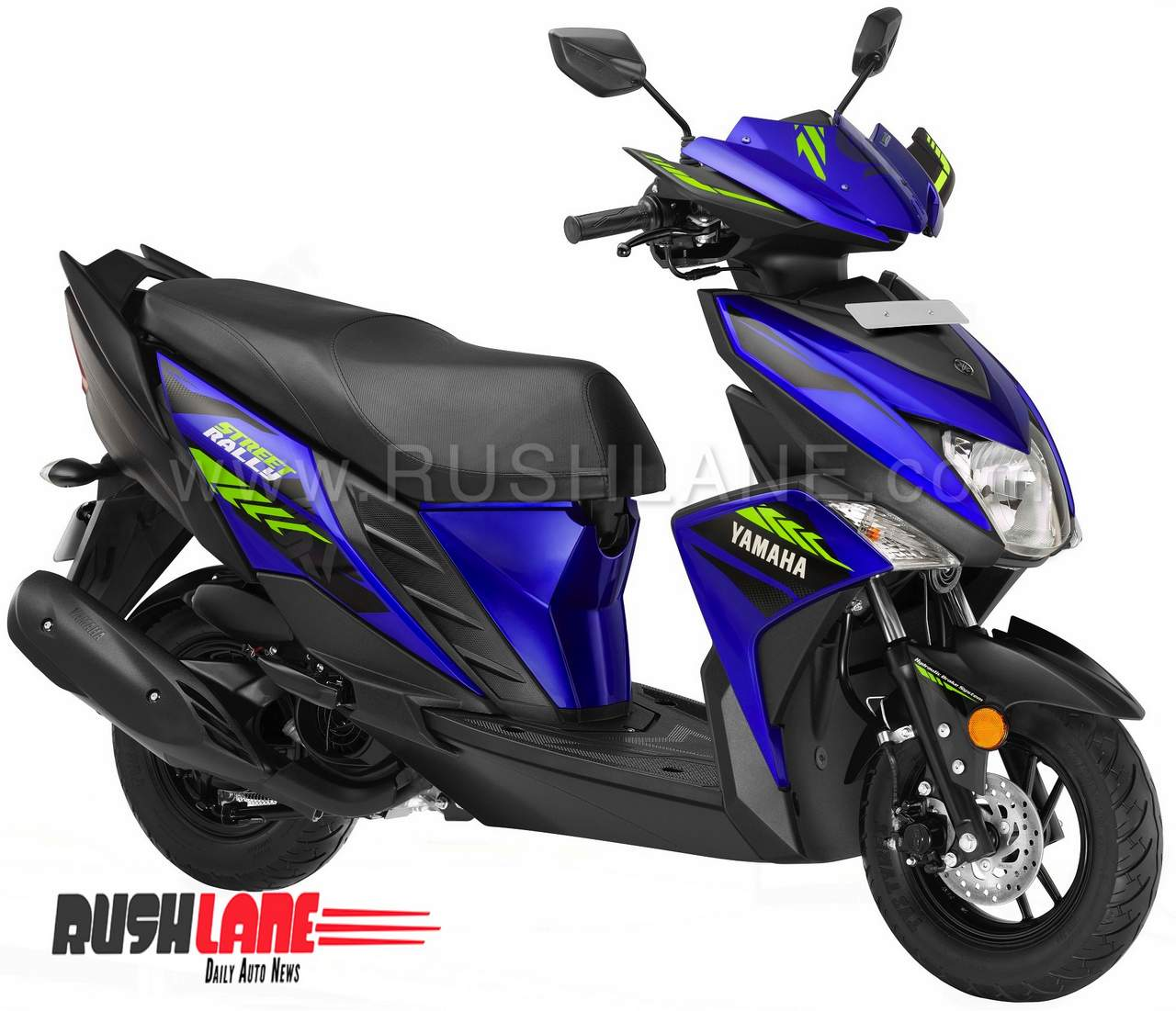 2018 yamaha rayzr street rally scooter arrives at dealer
