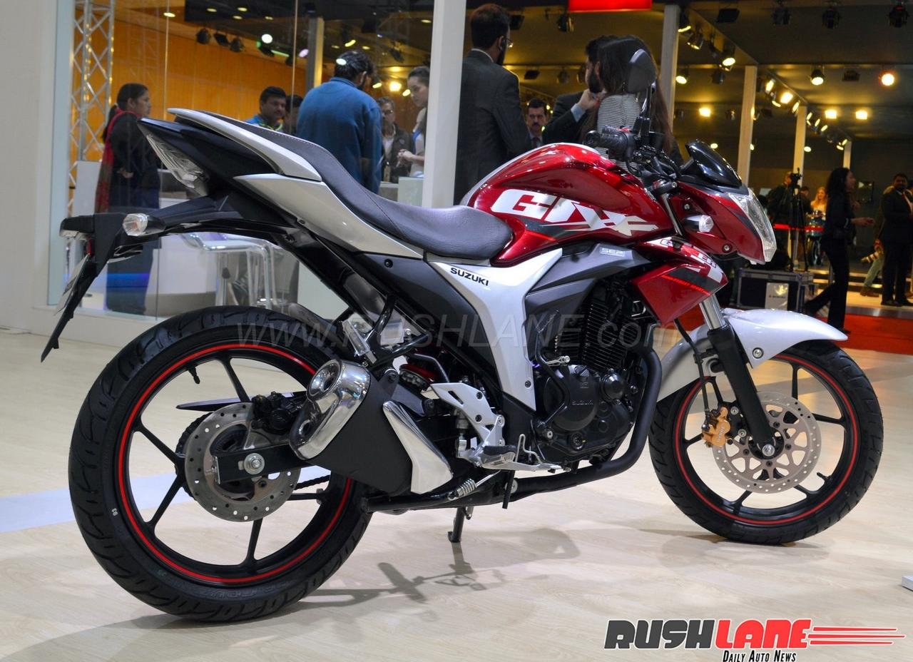 2018 Suzuki Gixxer and Gixxer SF launched in India - Price Rs 80,928