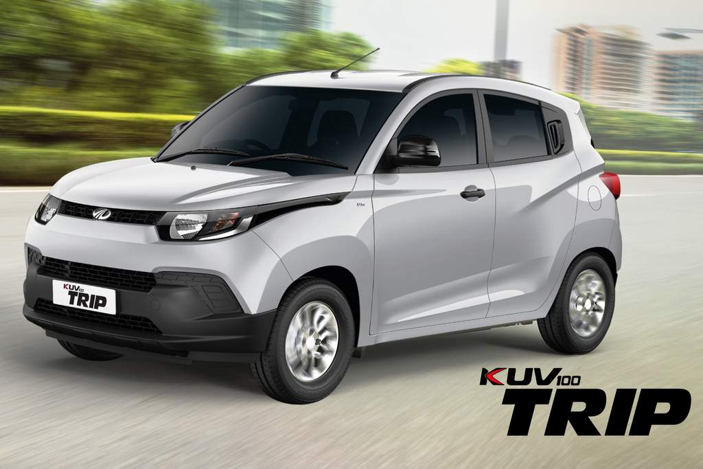 Mahindra KUV100 Trip variant for fleet and business owners