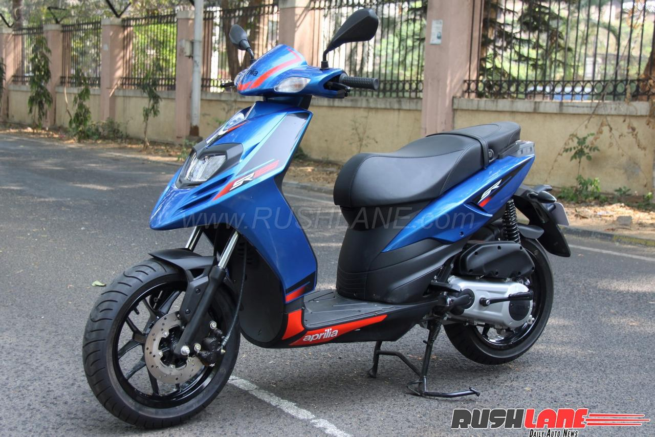 aprilia sr125 review pocket rocket of scooters. Black Bedroom Furniture Sets. Home Design Ideas