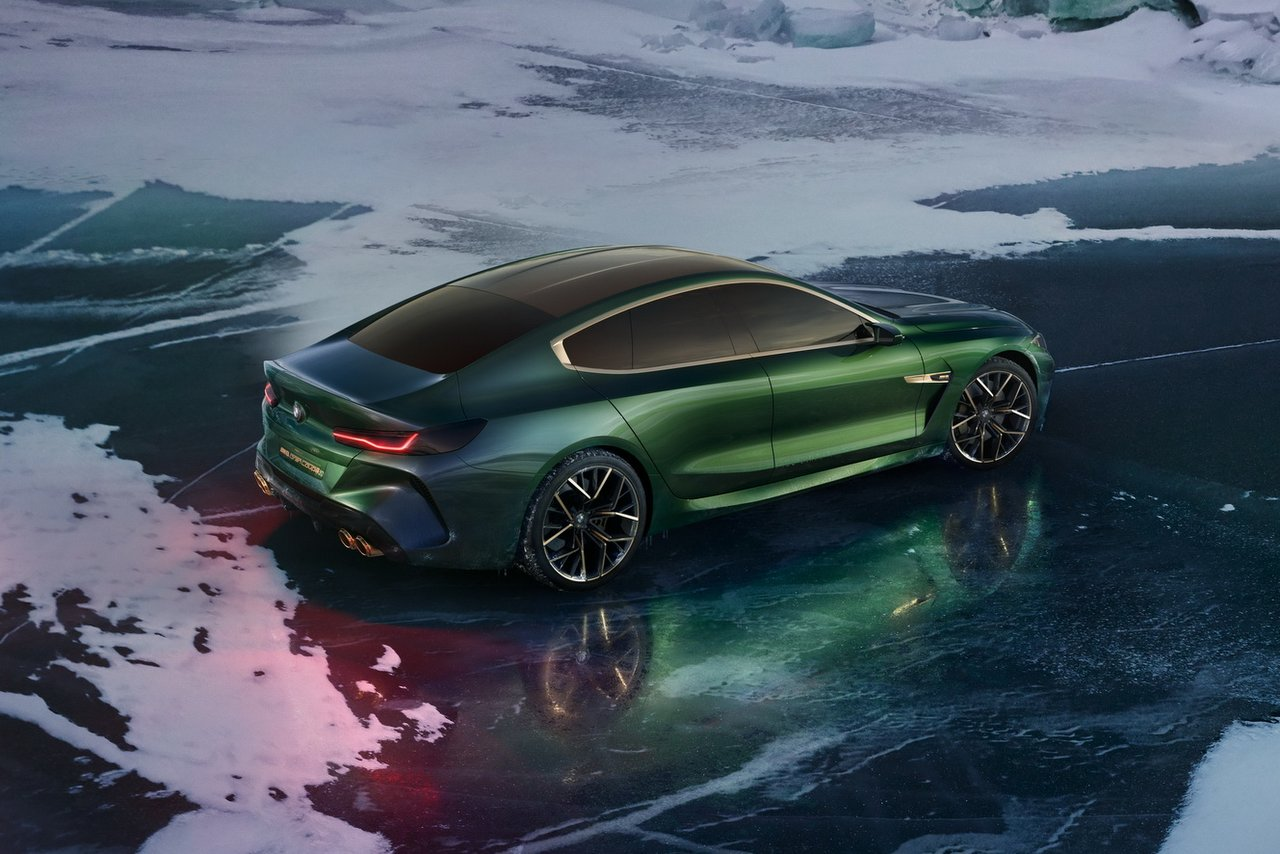 Bmw M8 Gran Coupe Concept Stuns Audience At 2018 Geneva Motor Show
