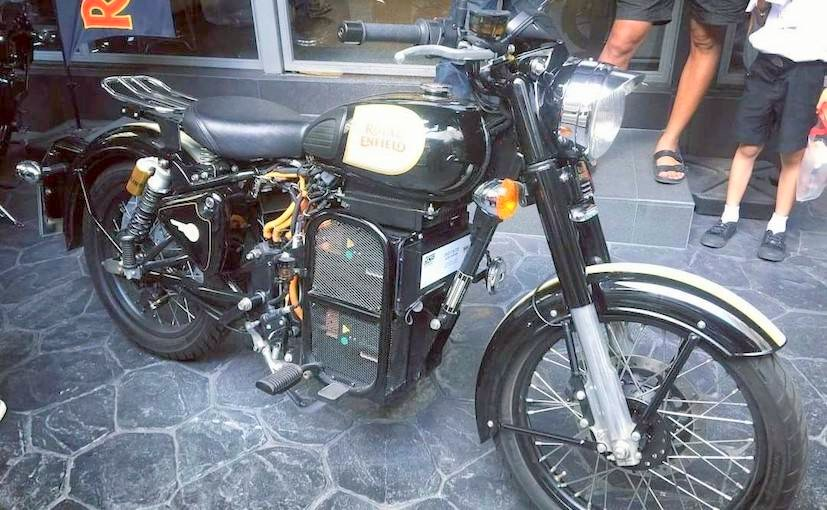 royal enfield developing new electric motorcycle platform. Black Bedroom Furniture Sets. Home Design Ideas