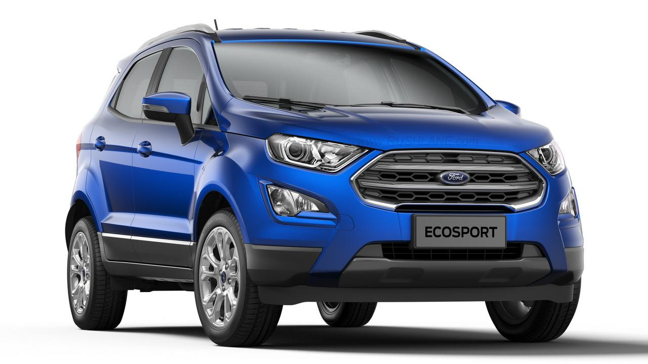 ford ecosport titanium petrol mt launched price rs lakhs. Black Bedroom Furniture Sets. Home Design Ideas