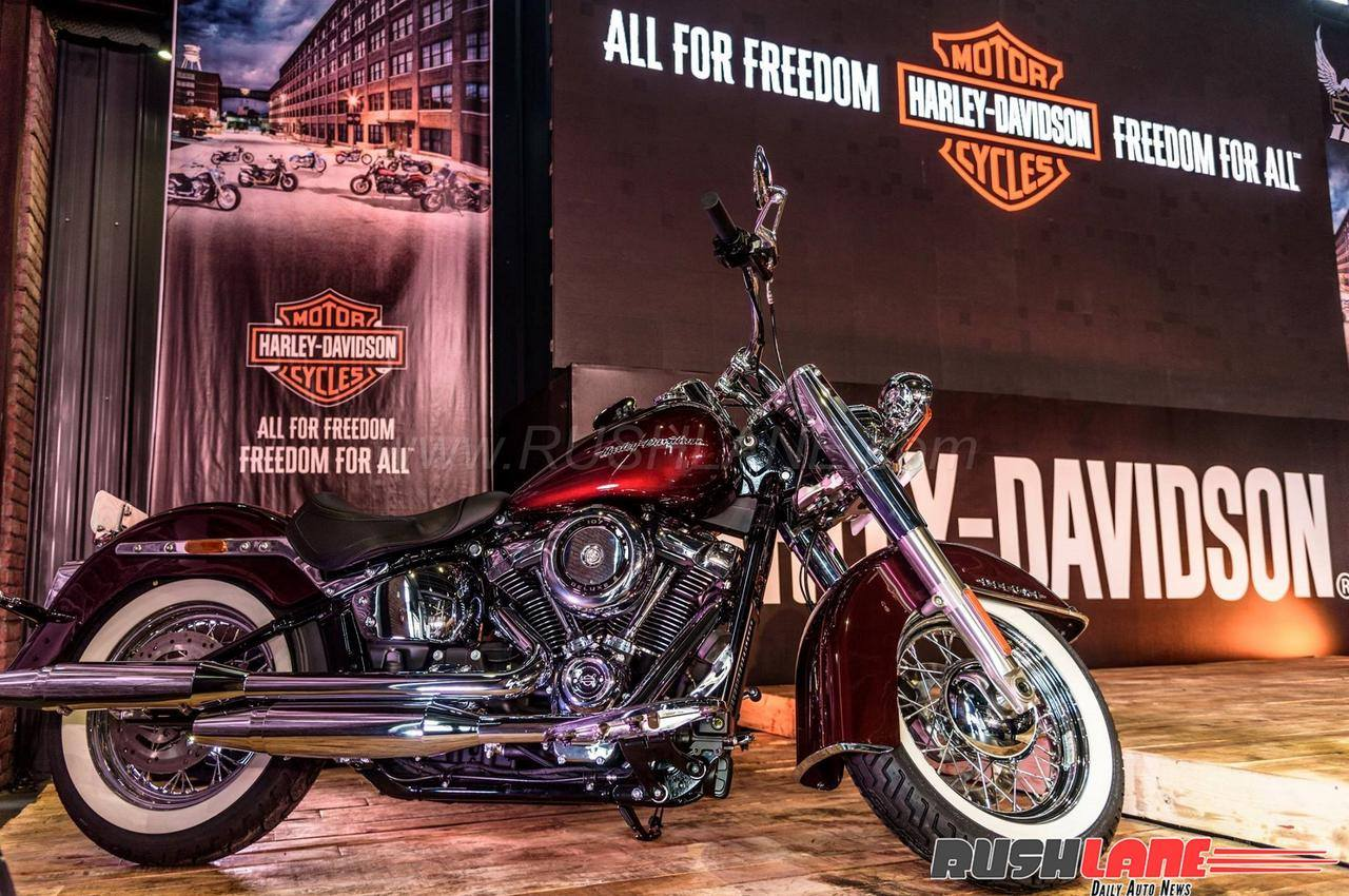 Harley-Davidson Softail launched in India - Low Rider and Deluxe