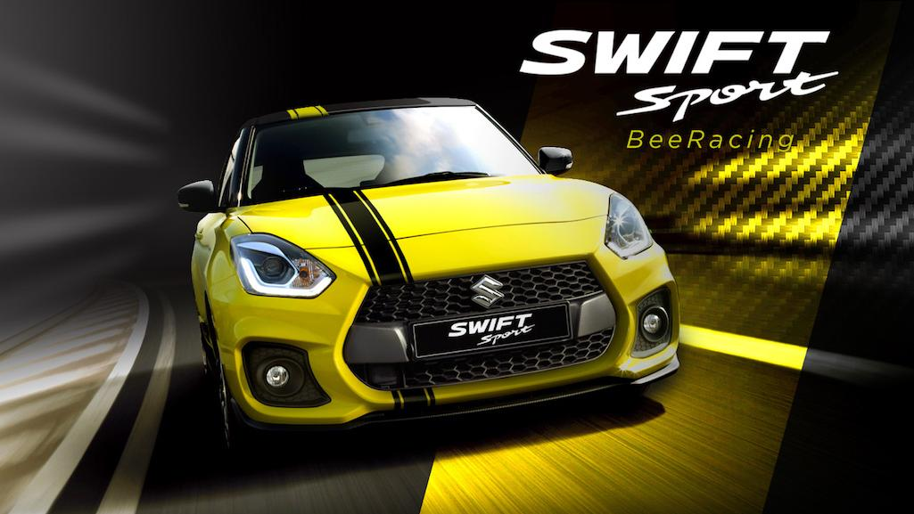 2018 maruti swift from india takes the swift sport. Black Bedroom Furniture Sets. Home Design Ideas