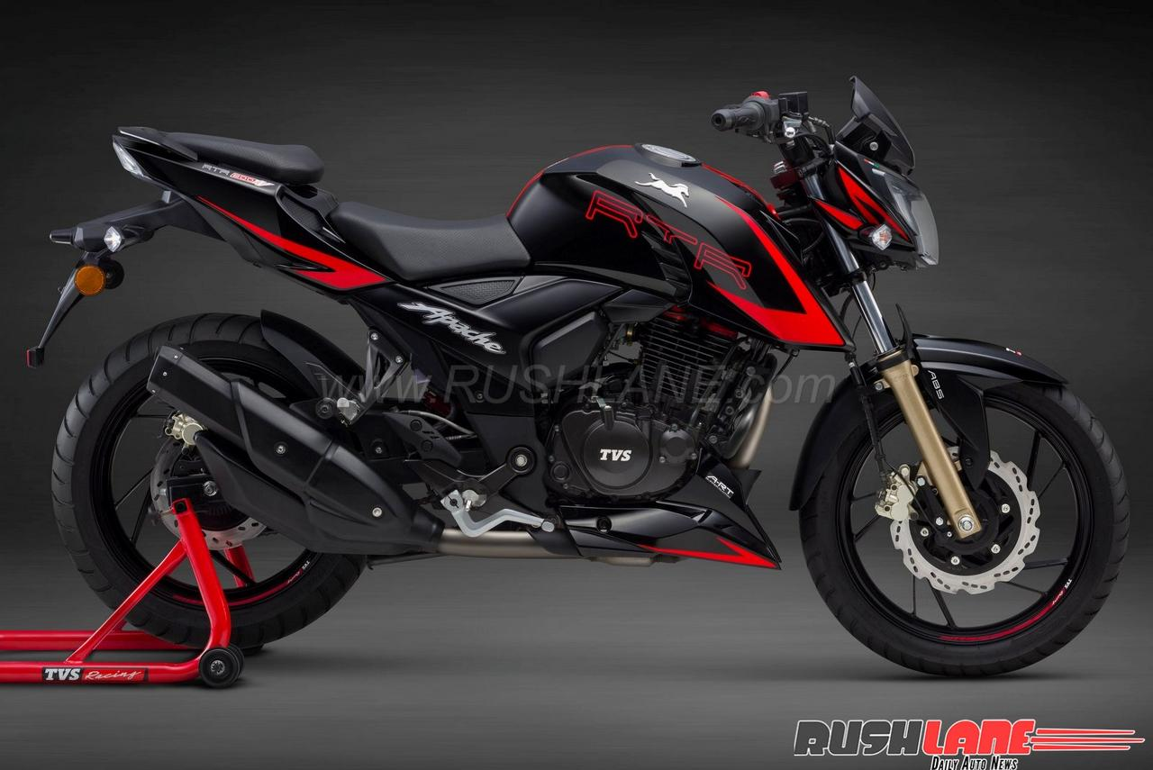 TVS Motor launches Apache RTR 200 4V with new clutch technology