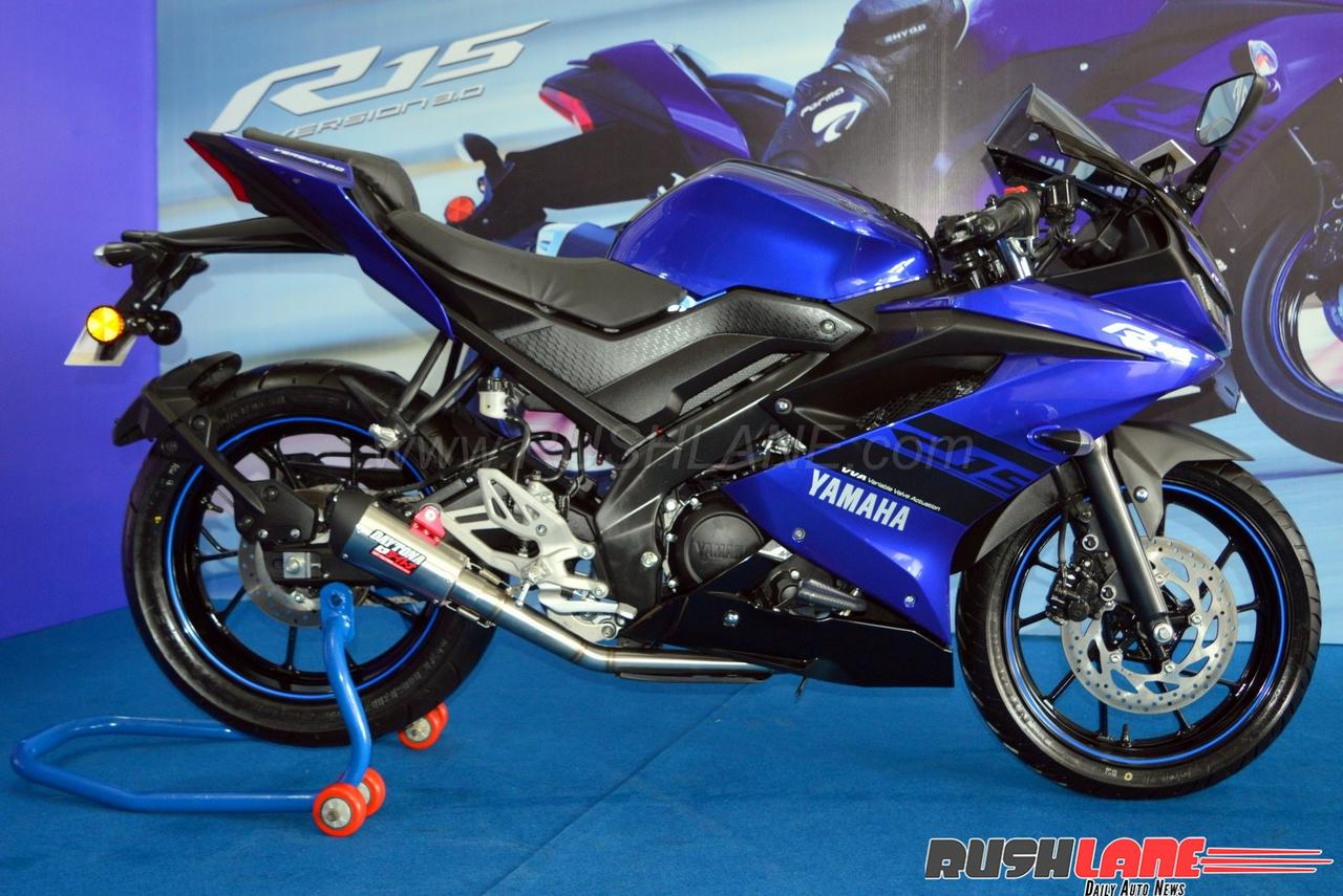 2018 Yamaha R15 V3 accessory prices revealed - Full list