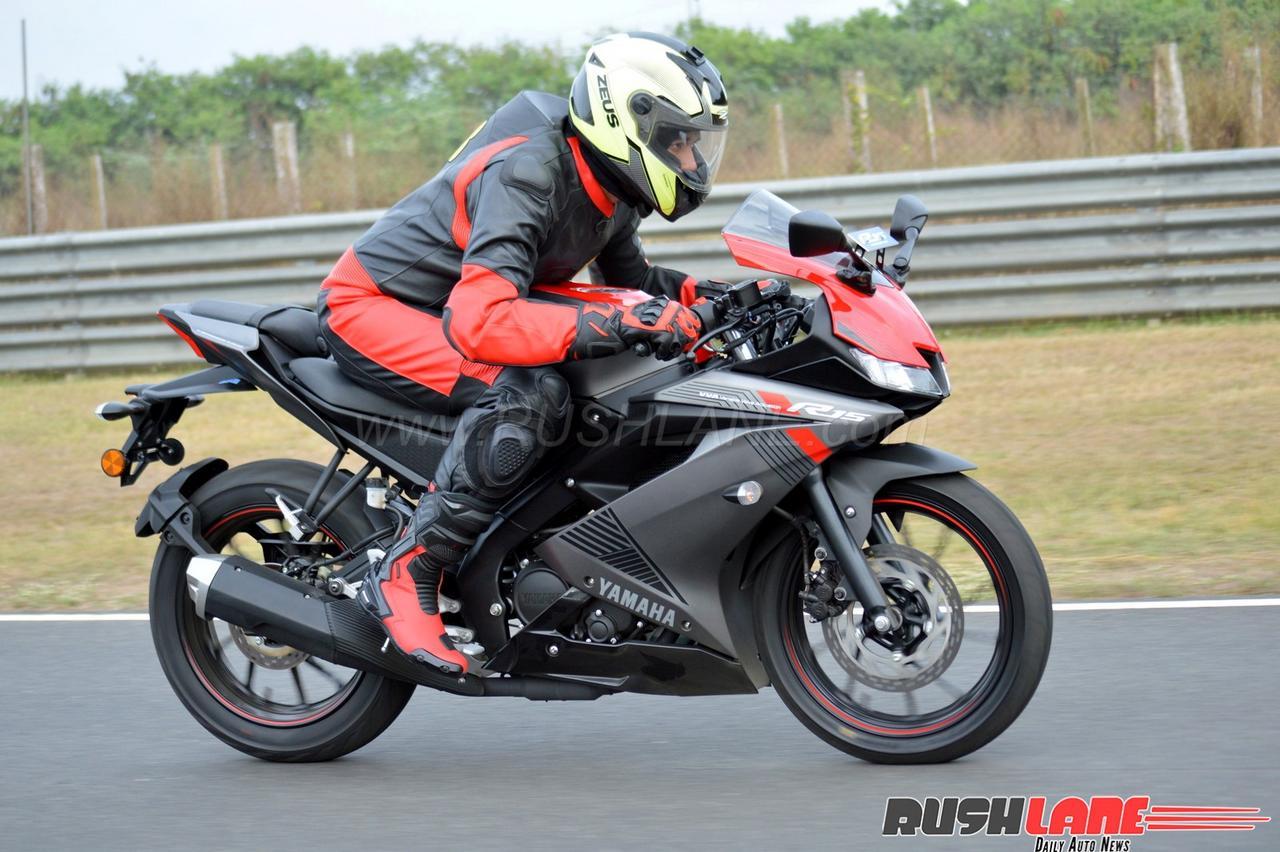 new yamaha r15 v3 review champion sports bike under 200cc