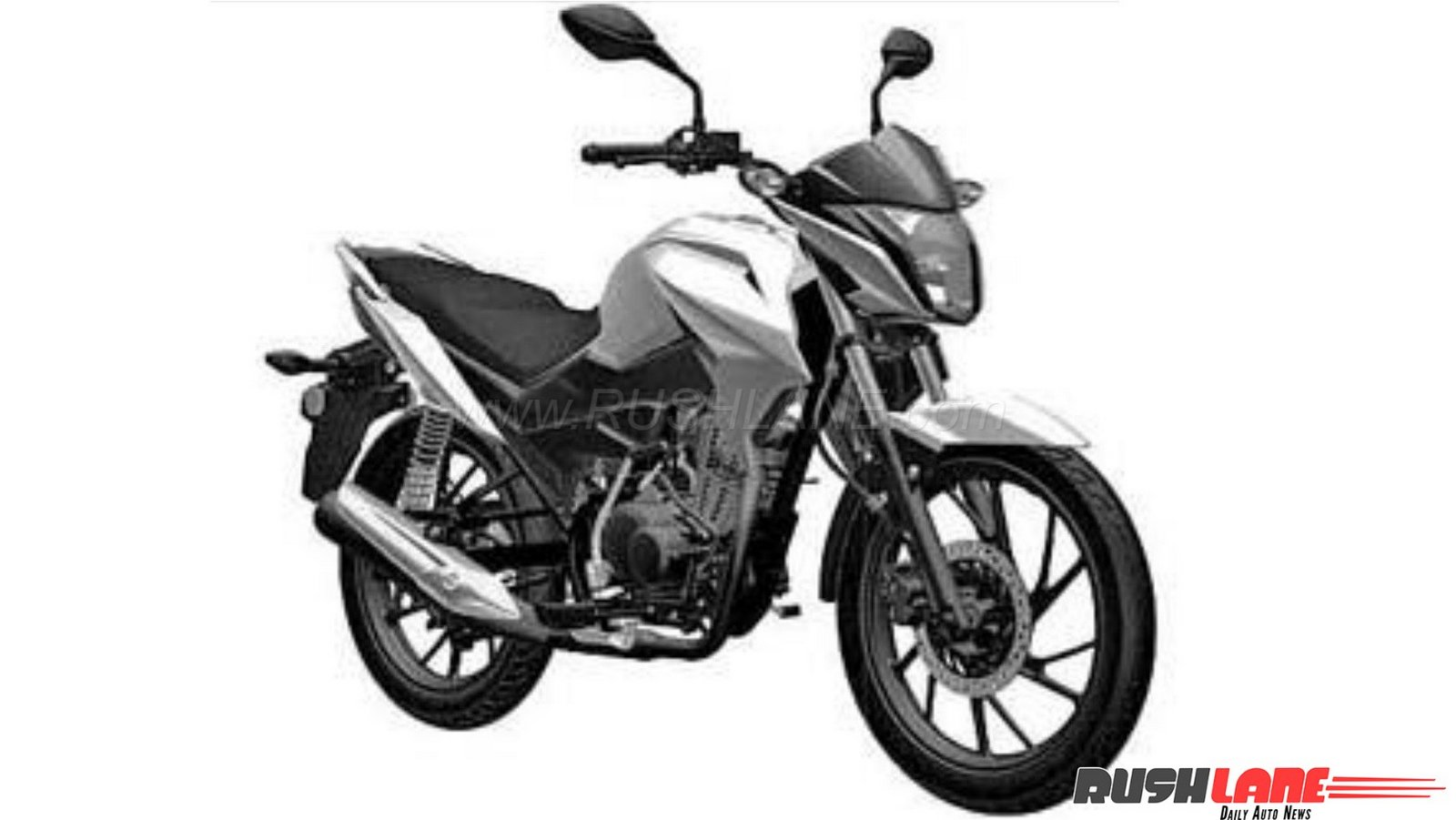 2018 honda cb 125f patented in india launch later this year. Black Bedroom Furniture Sets. Home Design Ideas