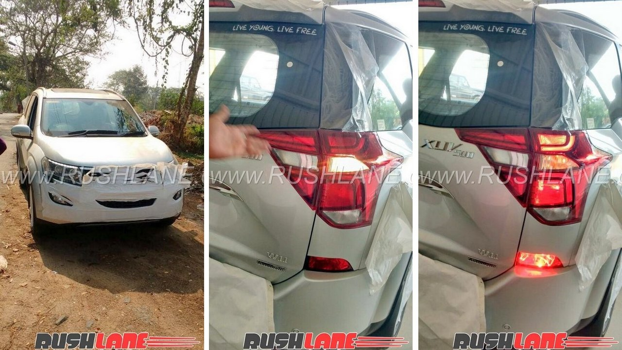 Spy Photos Of The Soon To Be Launched Mahindra XUV500 Facelift See Several  Changes To Exterior And Interior Design While Engine Also Gets Updated.