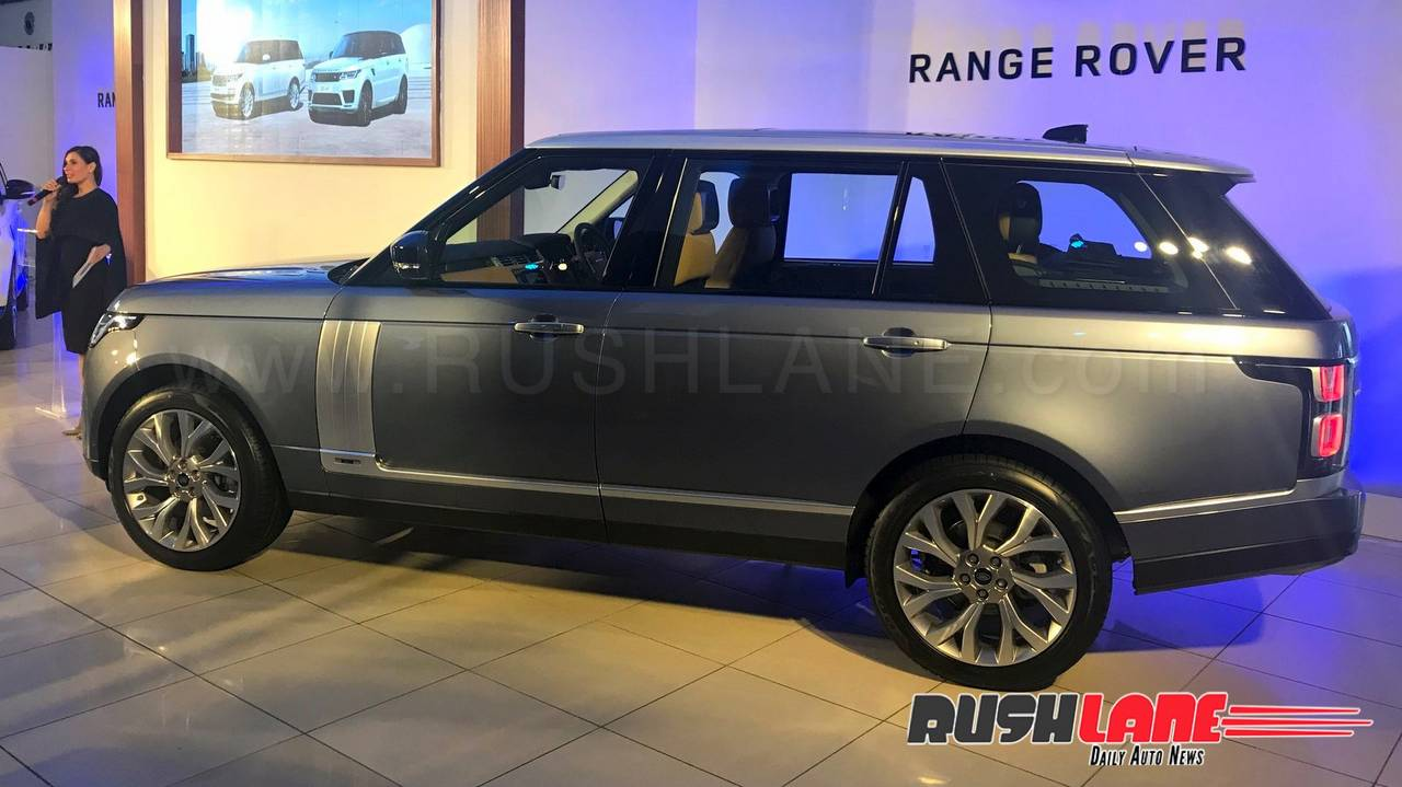 Land Rover launches the 2018 Range Rover in India - Price Rs