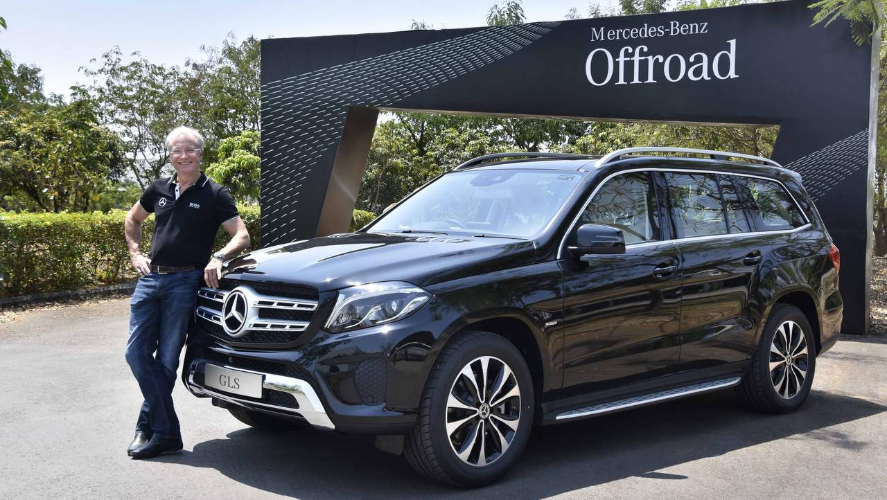Mercedes Benz GLS Grand Edition: Exterior LED Intelligent Light System With  Unique Black Rings For Overall Improved Visibility; Headlamps Adaptability  To ...