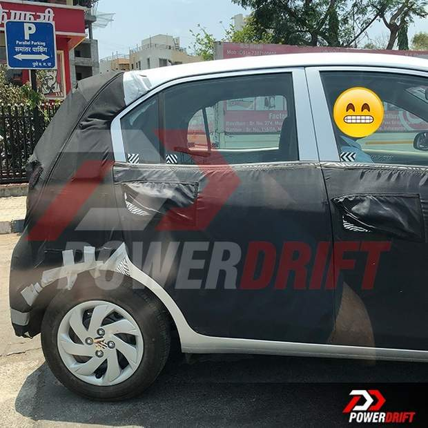 Maruti Swift Now To Have Amt Automatic Transmission In Top: New Hyundai Santro Spied Again On Test