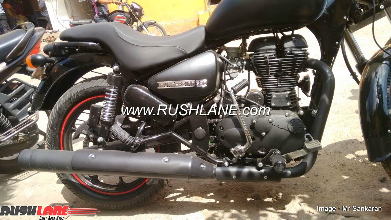 Royal Enfield Thunderbird 350 modified to 350X for Rs 20,000