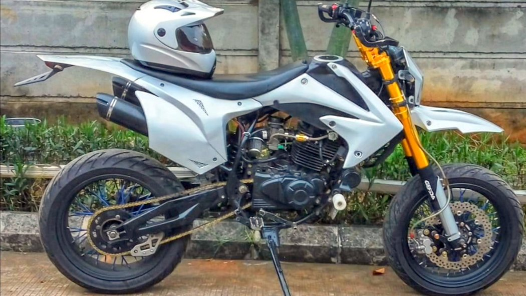 Bajaj Pulsar 220 Modified As An Offroader For Rs 2 Lakhs