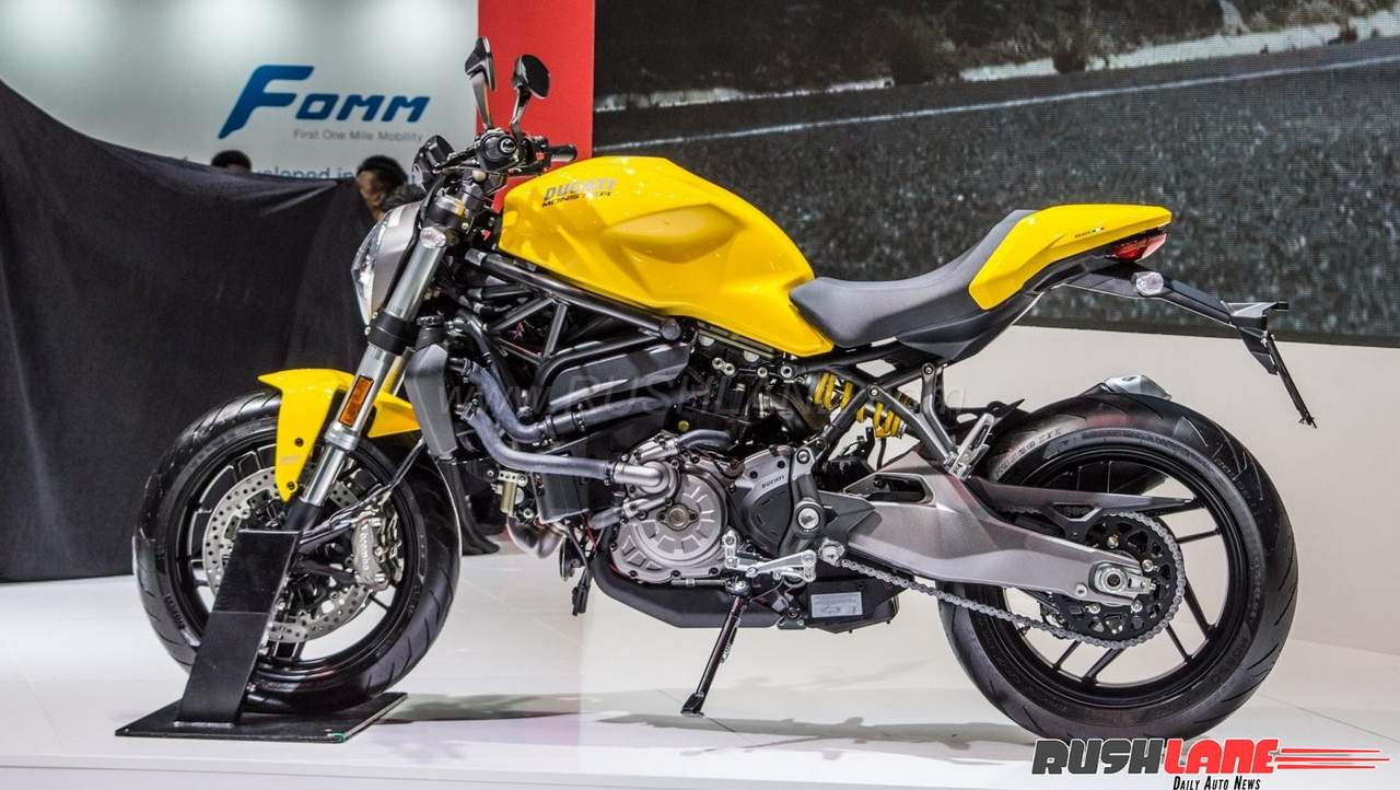 2018 ducati monster 821 launched in india price rs lakhs. Black Bedroom Furniture Sets. Home Design Ideas