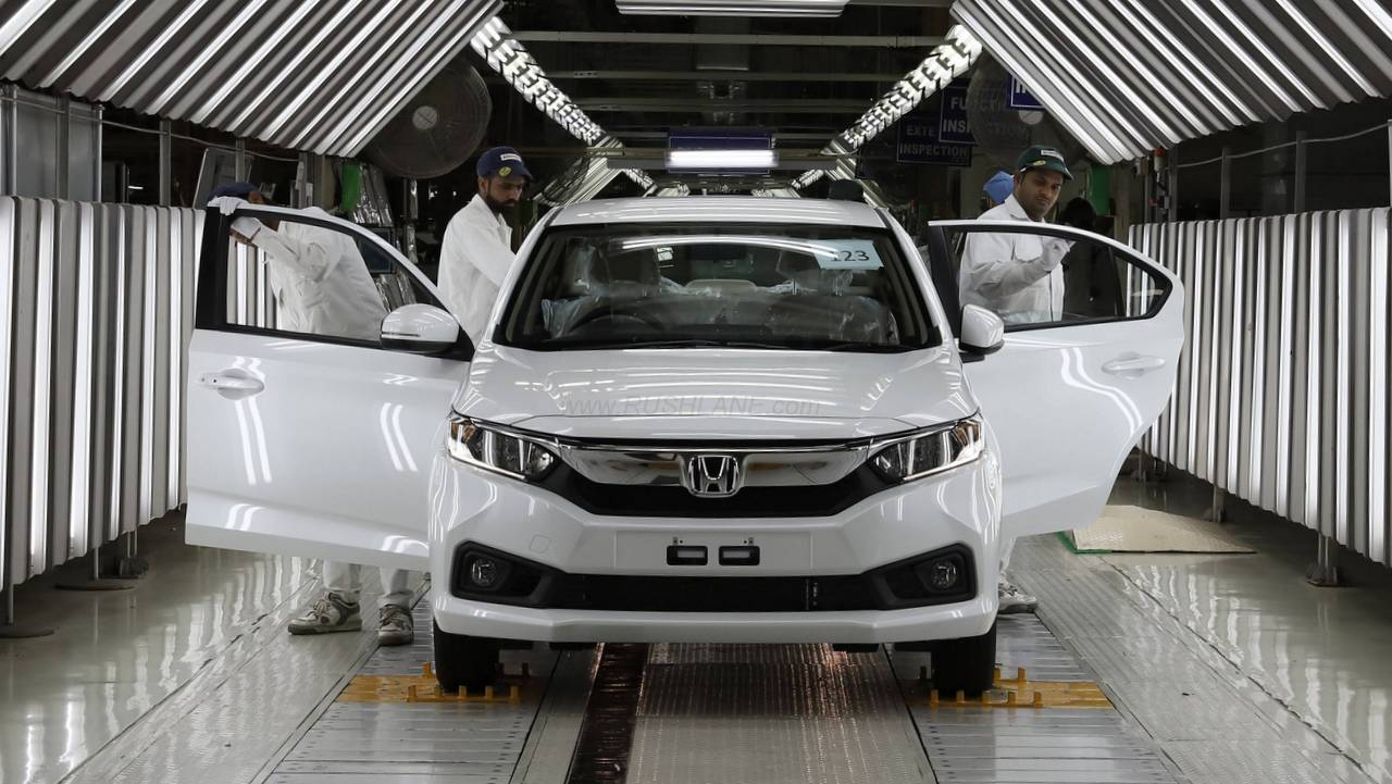 Watch How New Amaze Is Produced At Honda Cars India Plant