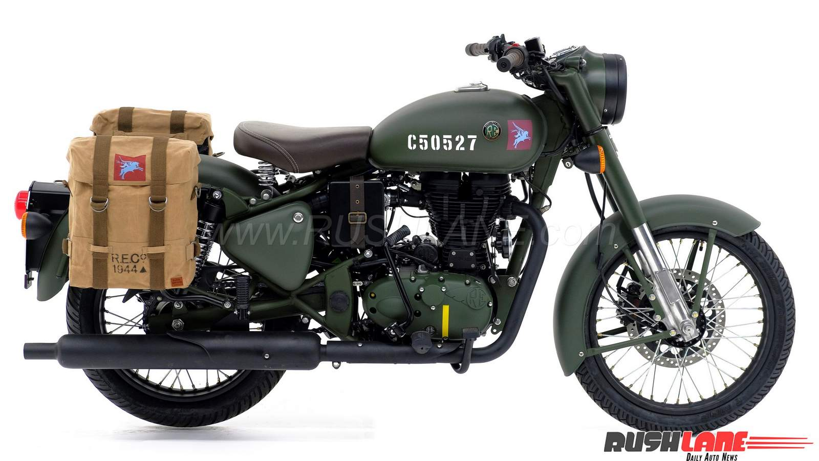 royal enfield pegasus classic 500 detailed in 60 photos. Black Bedroom Furniture Sets. Home Design Ideas