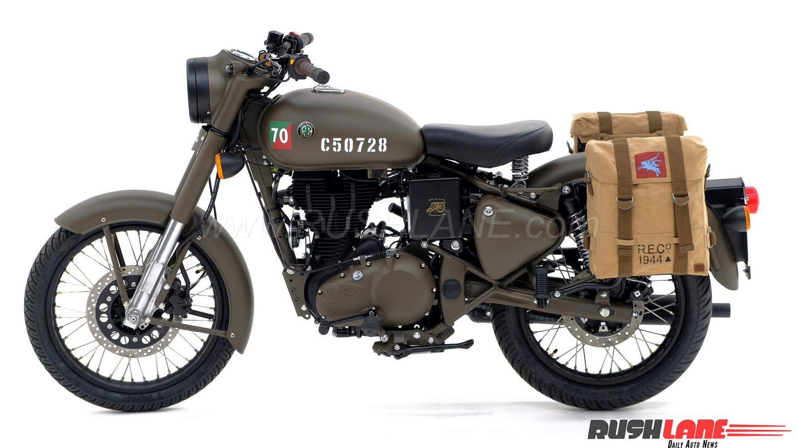 Royal Enfield Classic 500 Pegasus launched at Indian dealers - Price Rs 2.4 lakhs