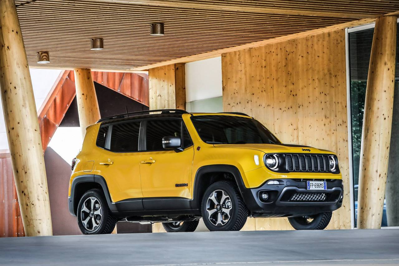 India bound 2019 Jeep Renegade and Renegade Trailhawk ...
