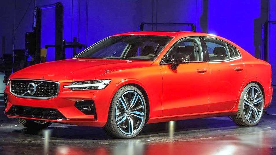 2019 Volvo S60 Debuts Rival To Mercedes C Class Bmw 3 Series Audi A4