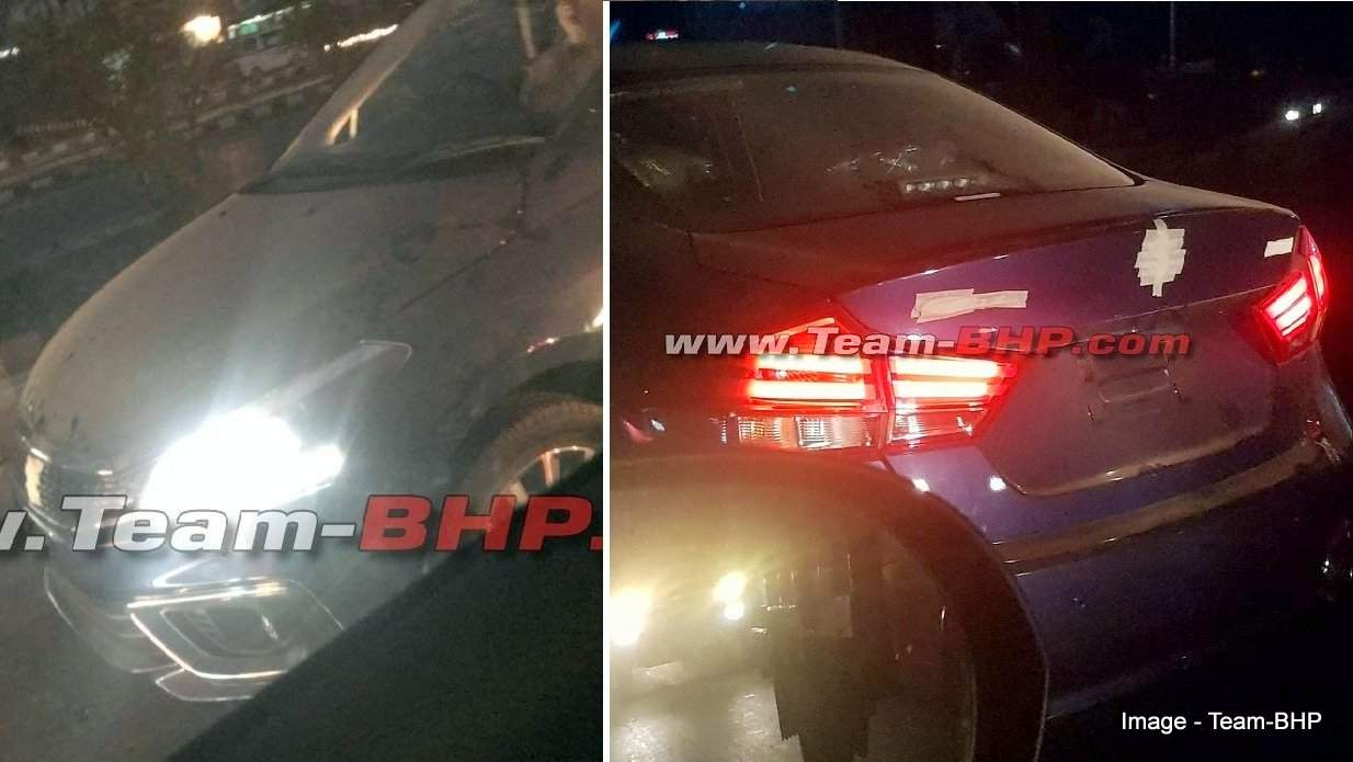 2018 maruti ciaz night testing