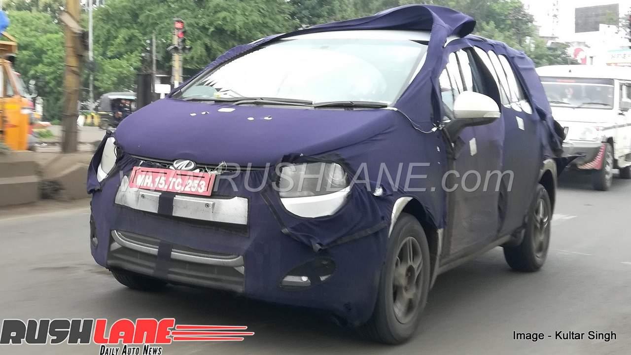 2018 Mahindra Marazzo Arrives At Dealer Gets Toyota