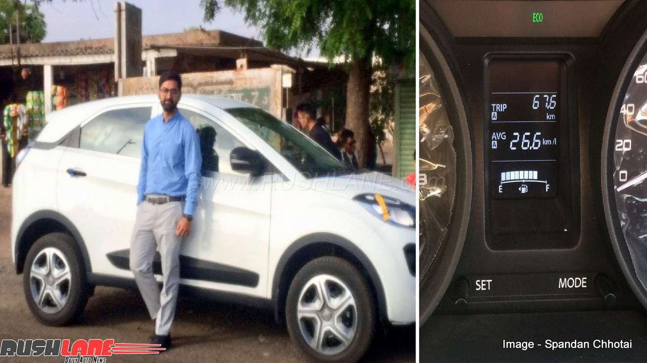 tata nexon owner gets 26 kmpl from his petrol suv explains how he