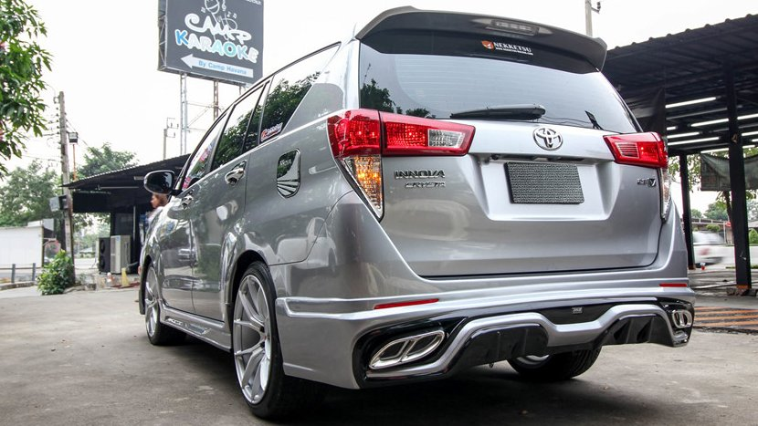 Toyota Innova Crysta Owner Spends Rs 15 Lakhs On