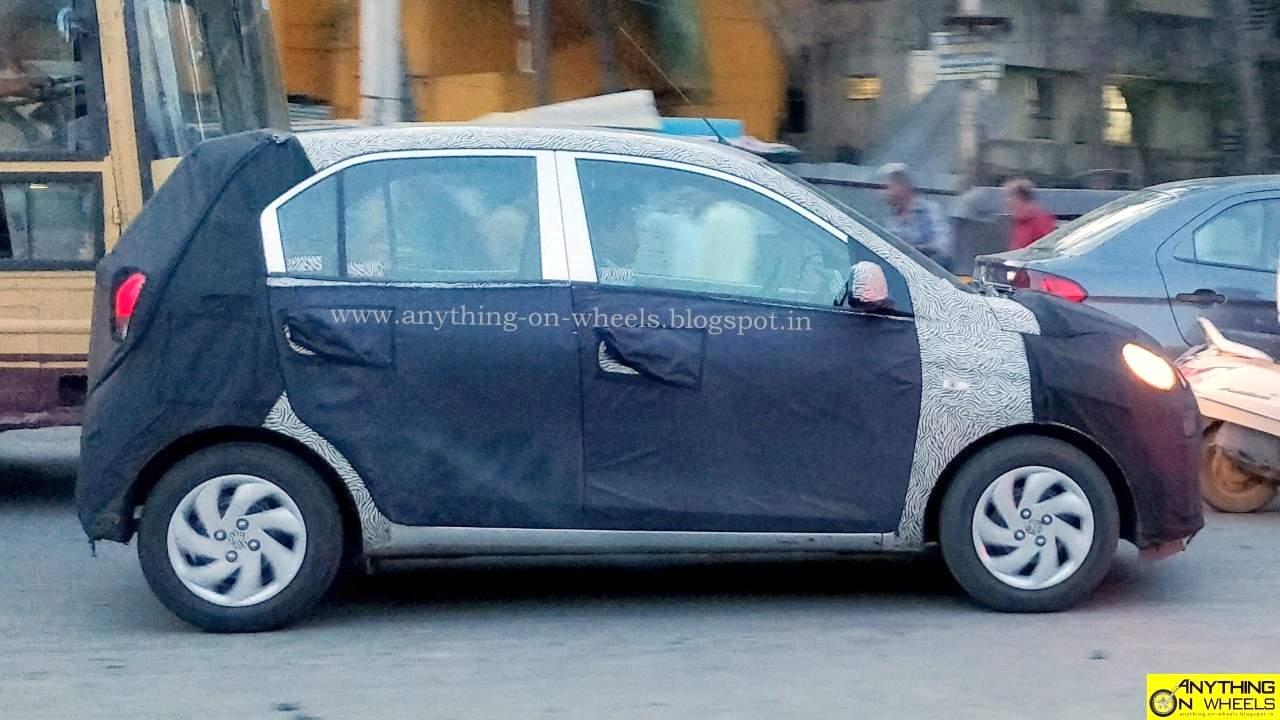 2018 Hyundai Santro Amt Smart Auto Spied Rival Tata Tiago Amt