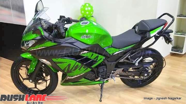 2018 Kawasaki Ninja 300 Abs Ckd Variant Launch Price Rs 298 Lakh