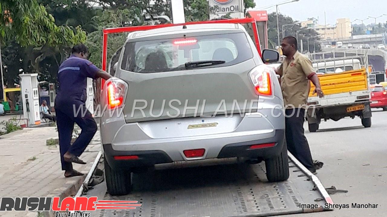 New Mahindra Suv Arrives At Dealer Sub 4m Car To Rival 2018 Maruti