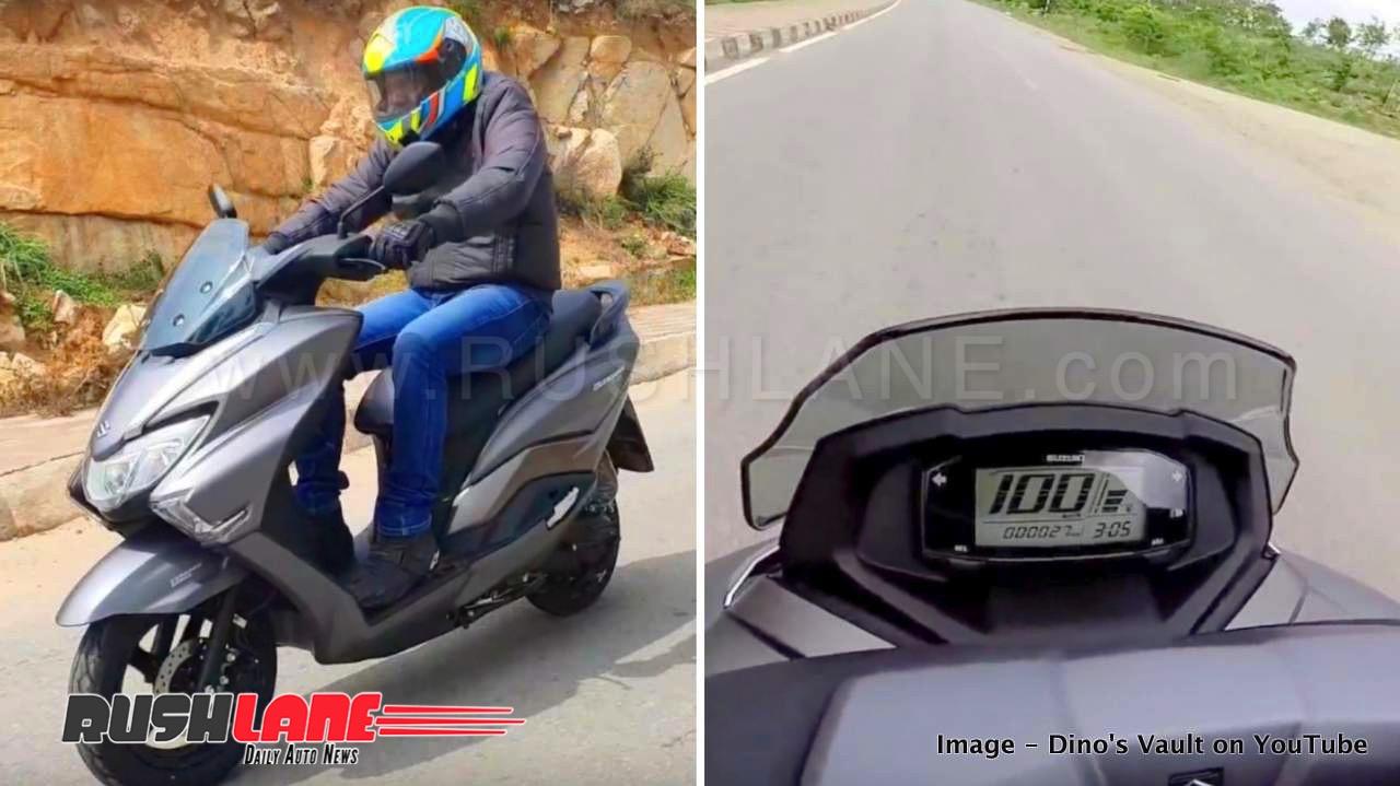 Suzuki Burgman Top Speed