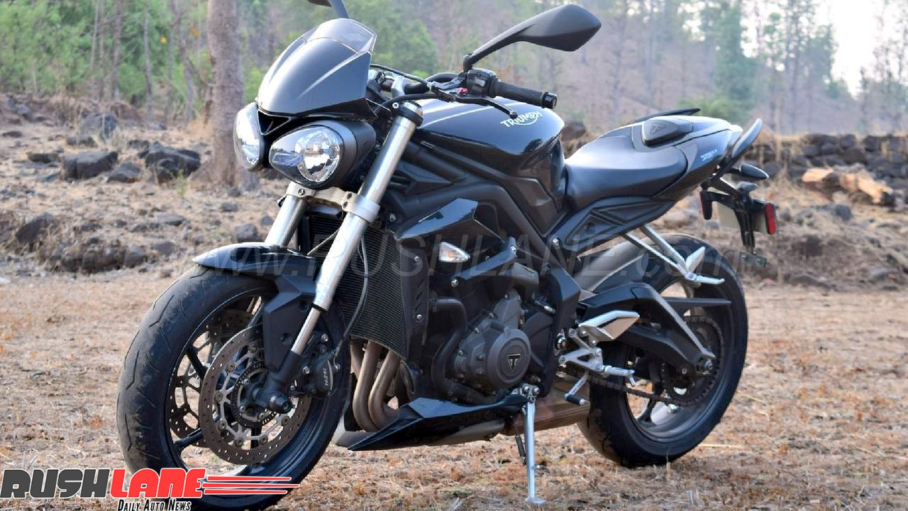 New Street Triple Is The Best Selling Triumph Roadster In India