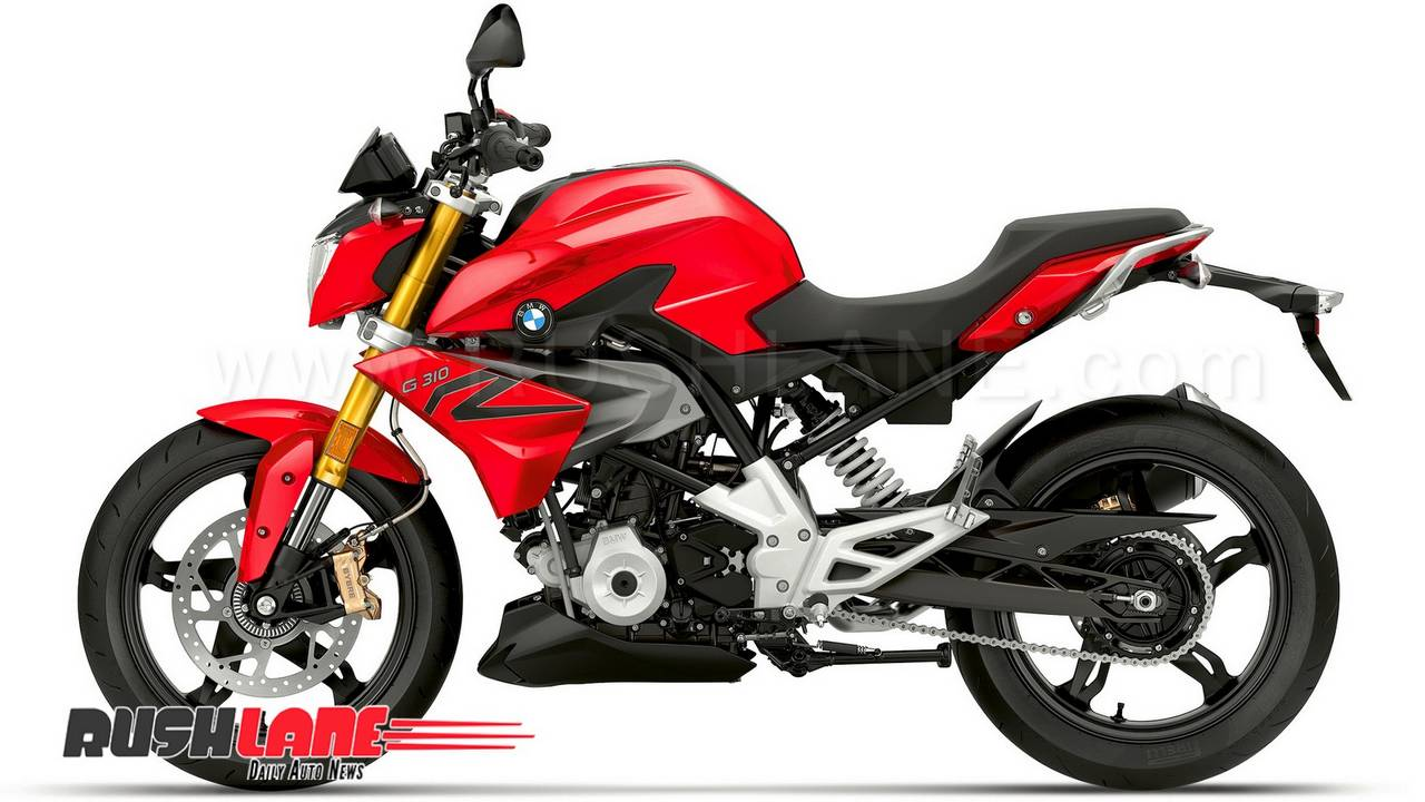 Bmw G310r Gets Tvs Apache 310 S Racing Red Colour Blue