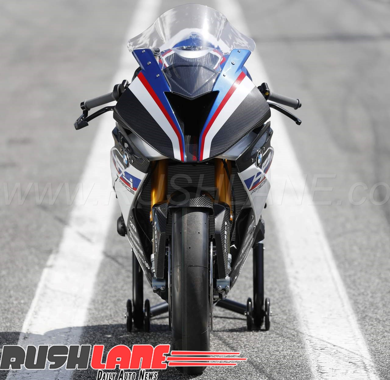 India S First Bmw Hp4 Race Motorcycle Worth Rs 85 Lakhs