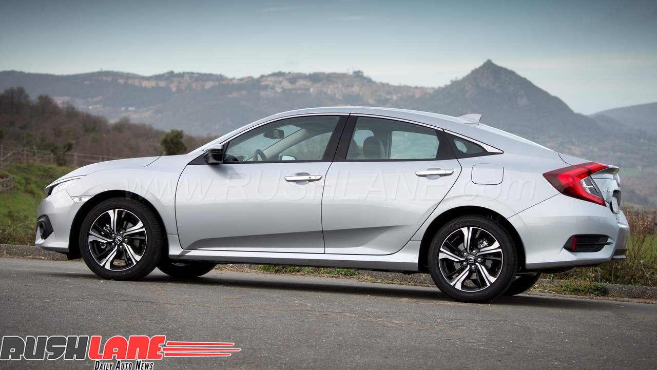 New Civic diesel launching soon in India.
